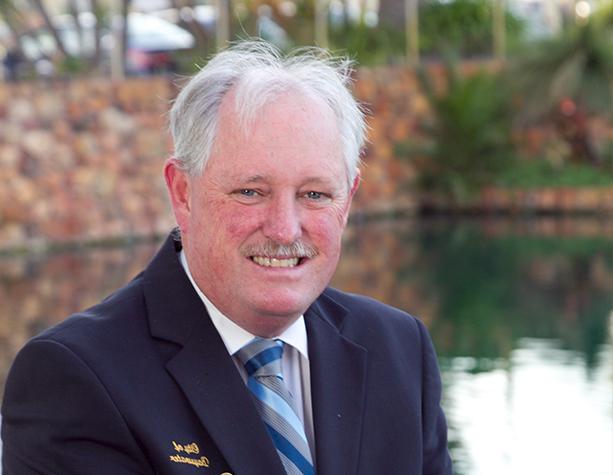 Cr Barry McKenna